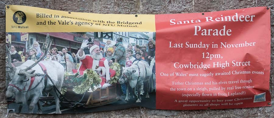 cowbridge-reindeer-parade-advert-sign-2018