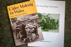 Two excellent books by John Williams-Davies about the history of Cider Making in Wales