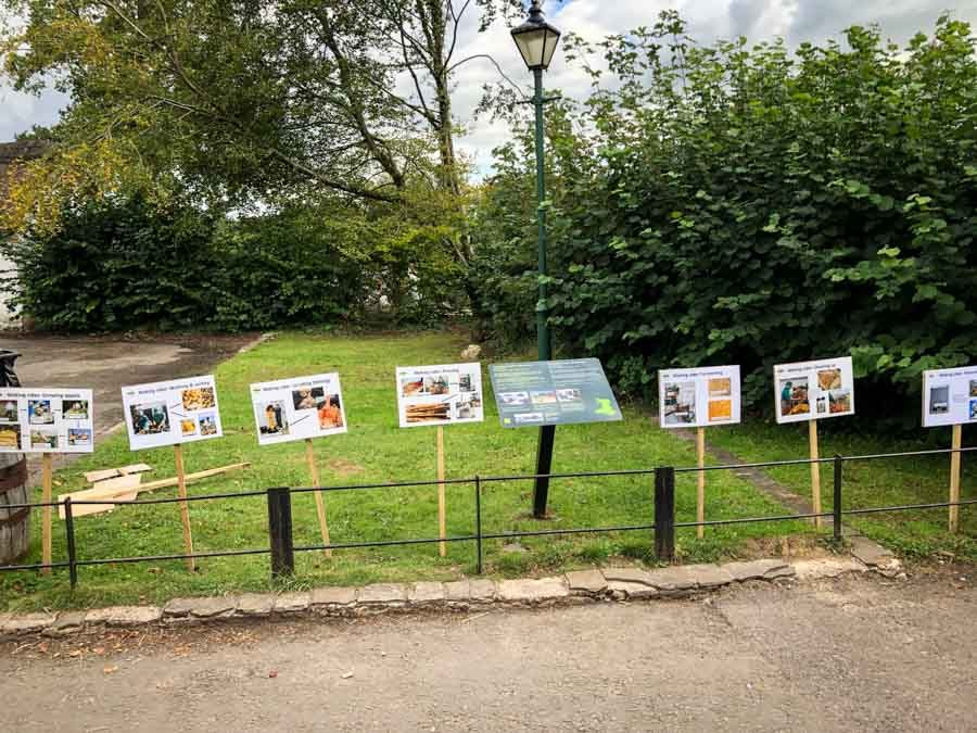 Vale-Cider-display-boards-at-Kennixton-Farmhouse-St-Fagans-Food-Festival