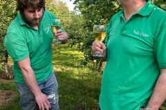 Tasting-Vale-Cider-in-the-orchard-2
