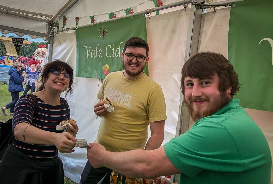 Serving-at-Vale-of-Glamorgan-Show-at-Fonmon-2019