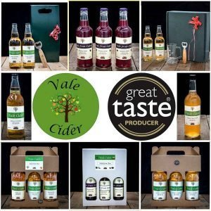 image of Christmas gifts for sale by Vale Cider
