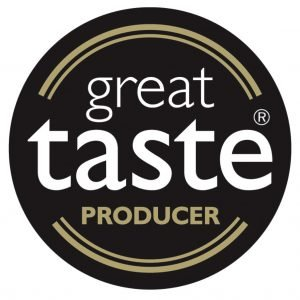 Great Taste Award logo won by Vale Cider