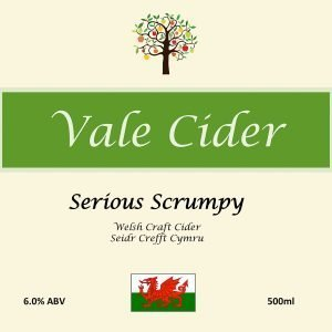 Image showing Vale Cider label