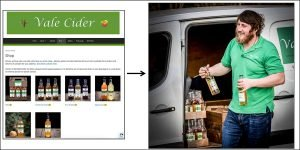 Online shopping with home delivery for Vale Cider