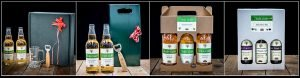 panel image of gift sets from Vale Cider