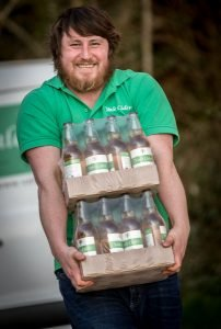 Bulk delivery of cider
