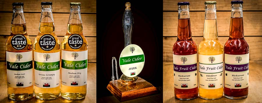 Image showing differing types of cider product