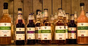 Range of cider products