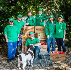 Family team from Vale Cider