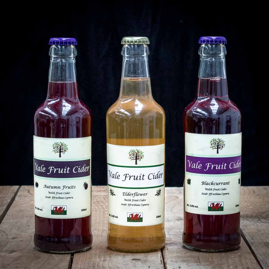 Fruit ciders from Vale Cider