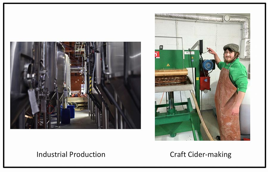 Craft Cider mill and Commercial Cider factory