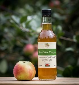 Bottle of Vale Apple Cider Vinegar