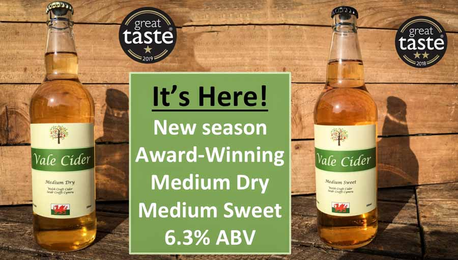 Vale Cider Shop New Season Traditional Ciders
