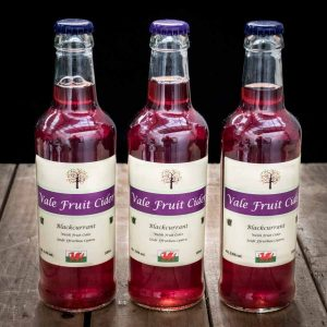 3 bottles of blackcurrant cider