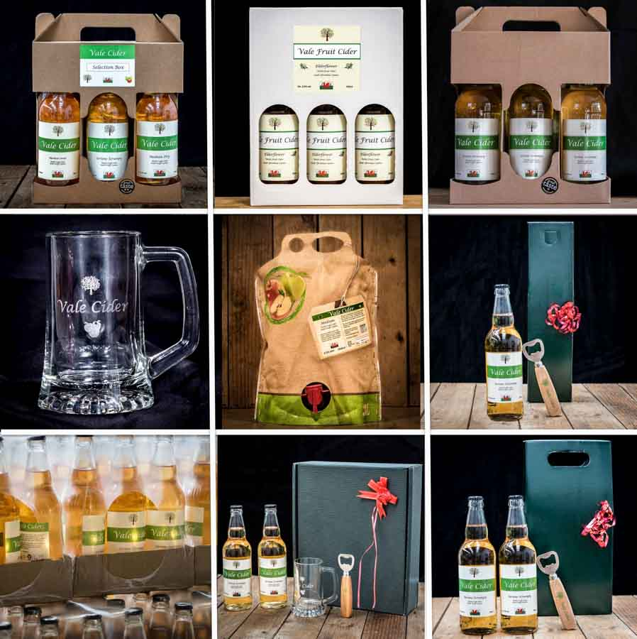 9 cider Father's Day gifts from Vale Cider