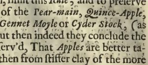text from an old book about cider