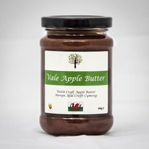 Jar of apple butter